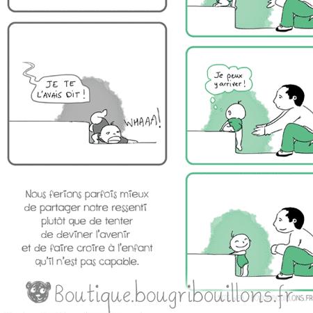 Extrait Affiche sur la confiance ne soi de l'enfant - Bébé