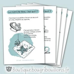 Affiches petite enfance, Affiches motricité libre - Bougribouillons