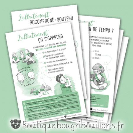 Affiches allaitement - Bougribouillons