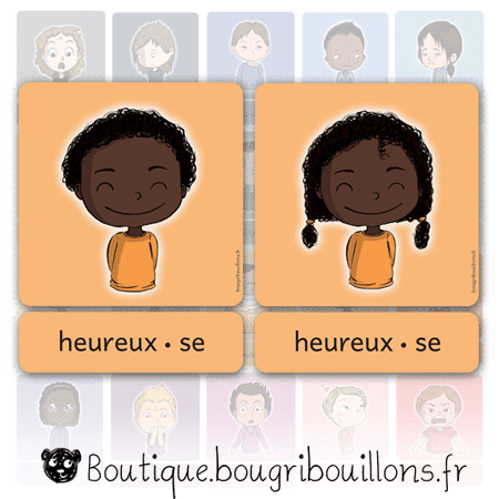 Cartes des émotions V2 - script - Bougribouillons