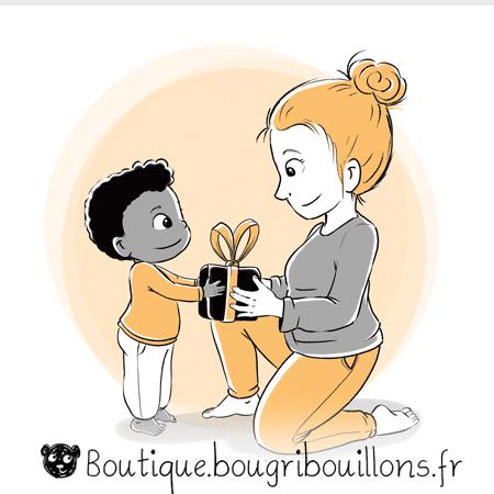 Cadeau éducation - Extrait 1 - Affiche Bougribouillons Petite enfance