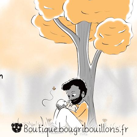 Cadeau éducation - Extrait 2 - Affiche Bougribouillons Petite enfance