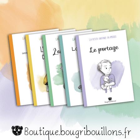 La petite enfance en images - 5 livrets -