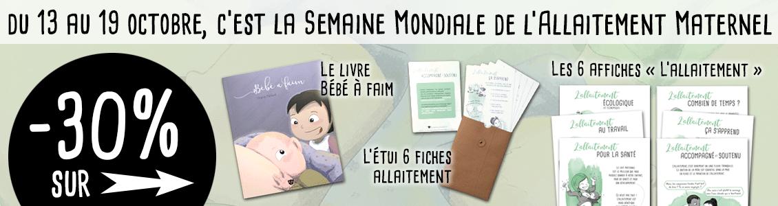 Promo Bougribouillons SMAM Semaine Mondiale de l'Allaitement Maternel